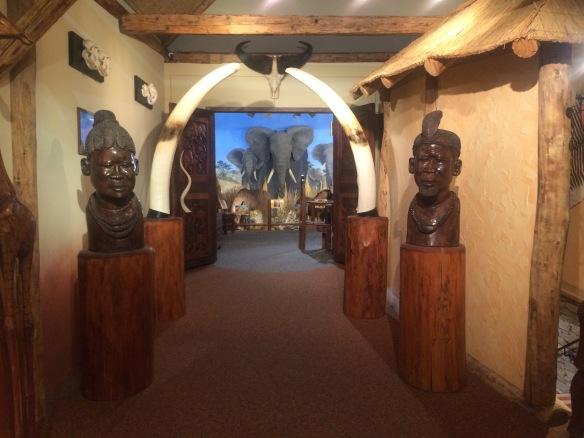 Eingang Afrika