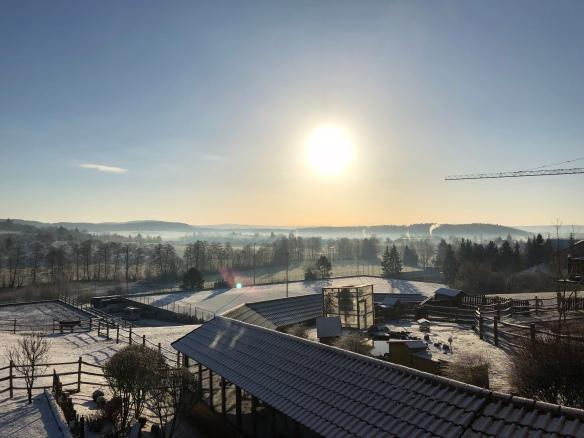 Wintermorgen am Sonnenhof
