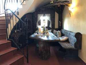 Sitzecke im Landhaus