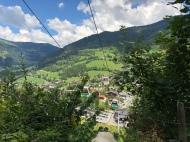 Blick über Bad Kleinkirchheim