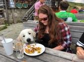 Mittagspause – Bella will auch was