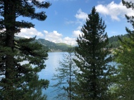 Blick über den Turracher See
