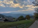 Morgendlicher Blick über Jenesien