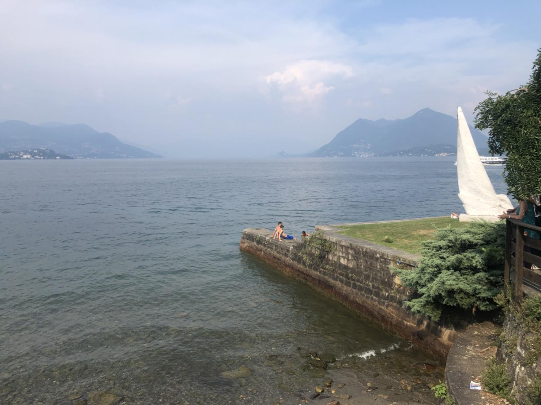 Stresa, Uferpromenade am Lago Maggiore