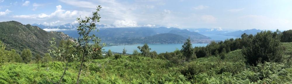 Panorama überm See