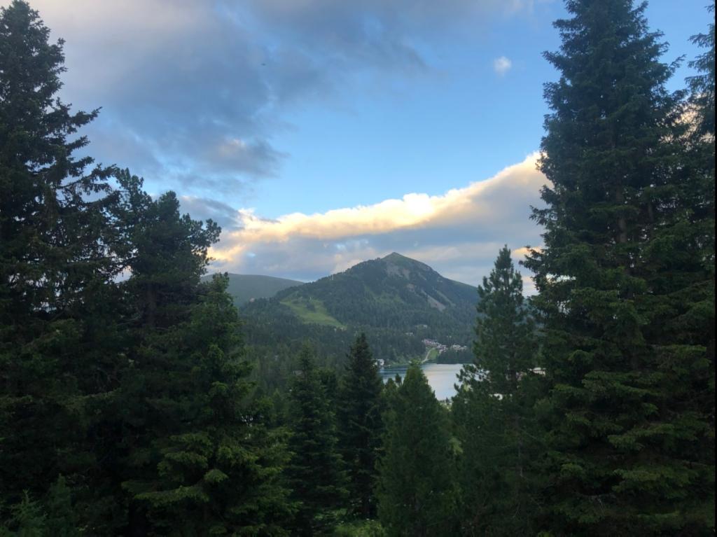 Blick zum Turracher See