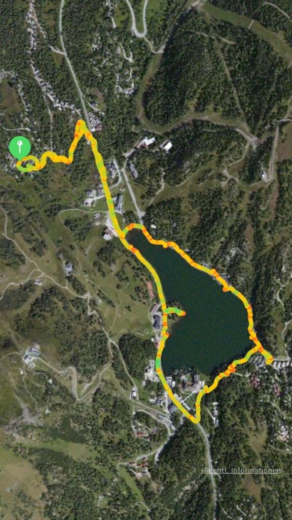 Spaziergang um den Turracher See