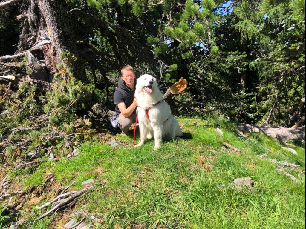 Mein großer Mensch und seine wunderschöne Bella